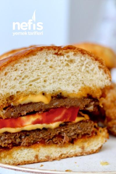 Ekmeğinden Köftesine Ve Çıtır Tavuğu İle Ev Yapımı Burger-9584395-160726