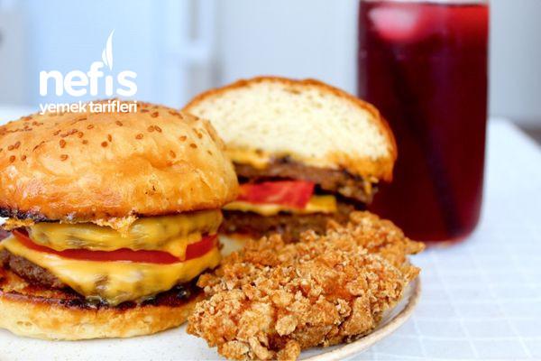 Ekmeğinden Köftesine Ve Çıtır Tavuğu İle Ev Yapımı Burger-9584395-160735
