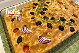 İtalyan Ekmeği (Focaccia) Tarifi