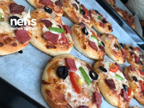 Kahvaltılık Minik Pizzalar