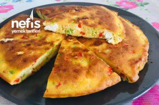 Börek Tadında Omlet Omlet Kek Omlet Börek (Kahvaltılık) Tarifi