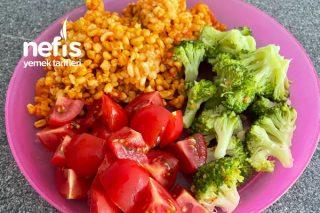 Brokoli Eşliğinde Bulgur Pilavı Tarifi