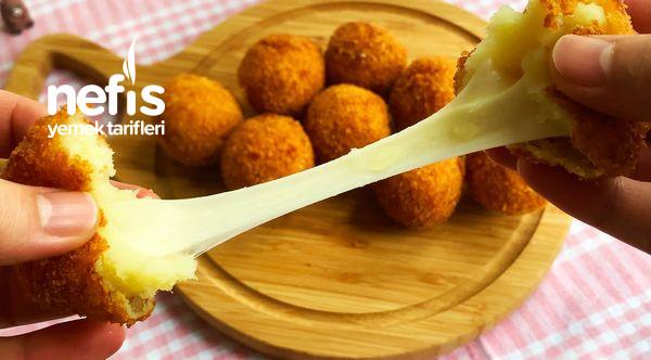 Peynirli Çıtır Patates Topları (Videolu)