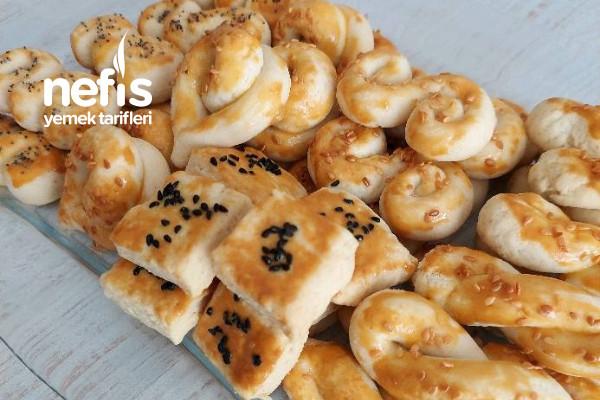 Tuzlu Kurabiye (Pastane Usulü)