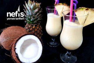 Alkolsüz Kokteyl Piña Colada (Videolu) Tarifi
