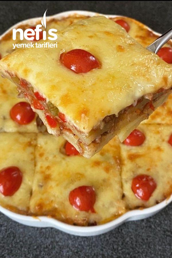 Tadına Doyum Olmaz Patates Lazanya