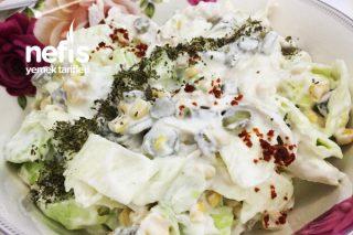 Herkesin Bayılarak Yiyeceği Tavuklu Göbek Salatası Tarifi
