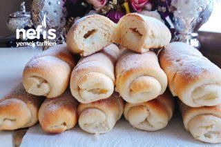 Pudingli Pastacıklar (Vanillestangen/Vanillehörnchen) Tarifi