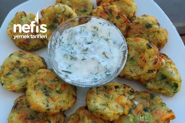 Sebzeli Patates Köfte