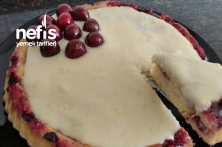 Kirazlı Muhallebili Yaz Pastası Tart Pasta Tarifi