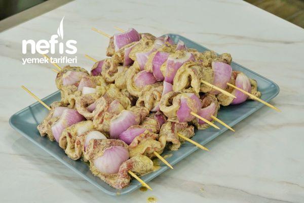 Lokum Gibi Etiyle Şaşlık Kebabı Tarifi