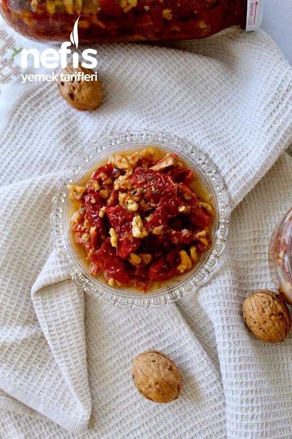 (Bu Lezzeti Kaçırmayın) Zeytinyağlı Kuru Domatesli Kahvaltılık