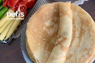 Standart Kahvaltılık Krep Tarifi