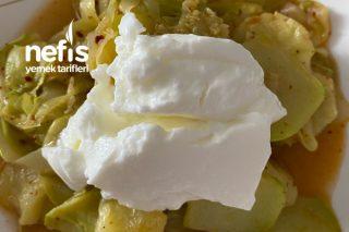 Az Kalorili Kabak Yemeği (Diyet Yapanlar İçin) Tarifi