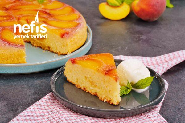 Bu Yazın Favori Keki: Şeftalili Ters Kek (videolu)