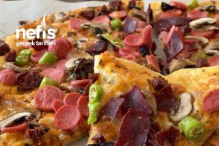 Karışık Pizza Yapımı Tarifi