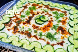 Serin Salata (Yaz Aylarında Vazgeçilmez Bir Lezzet) Tarifi