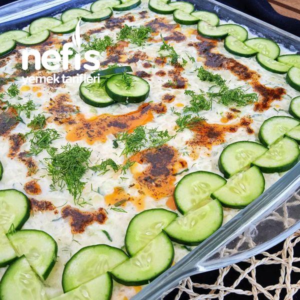 Serin Salata (Yaz Aylarında Vazgeçilmez Bir Lezzet)