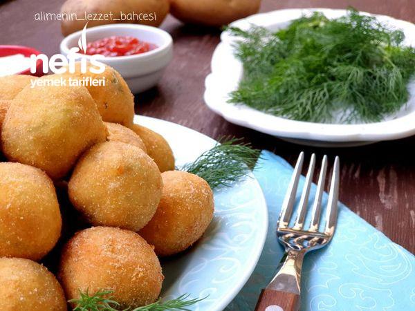 Çıtır Patates Topları (Videolu)