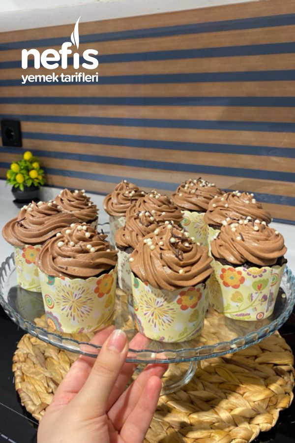 Damla Çikolatalı Cupcake