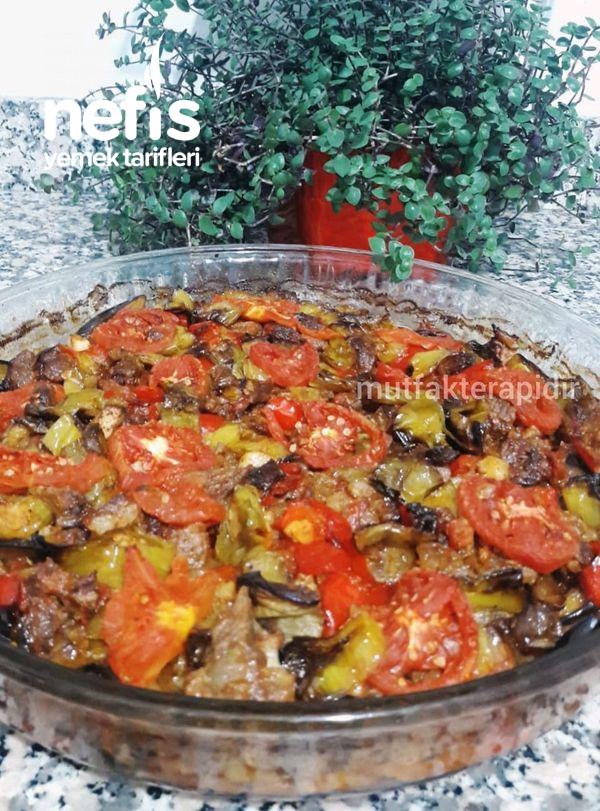 Lokum Kıvamında Patlıcan Tava