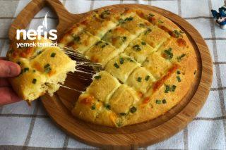 Sarımsaklı Ekmek Mozarella Peynirli (Videolu) Tarifi