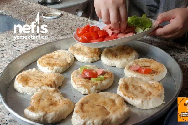 Puf Puf Kabaran Mayalı Pizza Poğaça (Videolu)