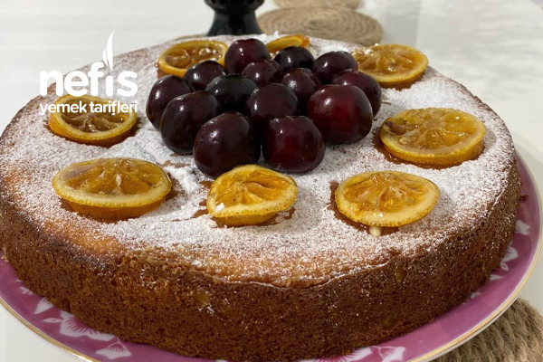 Ricotta Peynirli Limon Kek