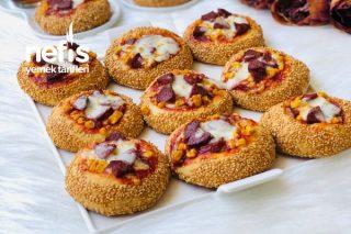 Simit Tadında Porsiyonluk Pizza Tarifi