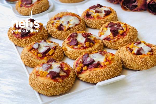 Simit Tadında Porsiyonluk Pizza