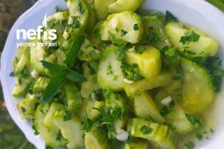 Zeytinyağlı Kabak Salatası Tarifi