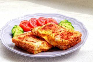 Aşırı Lezzetli Fit Yumurtalı Ekmek Tarifi