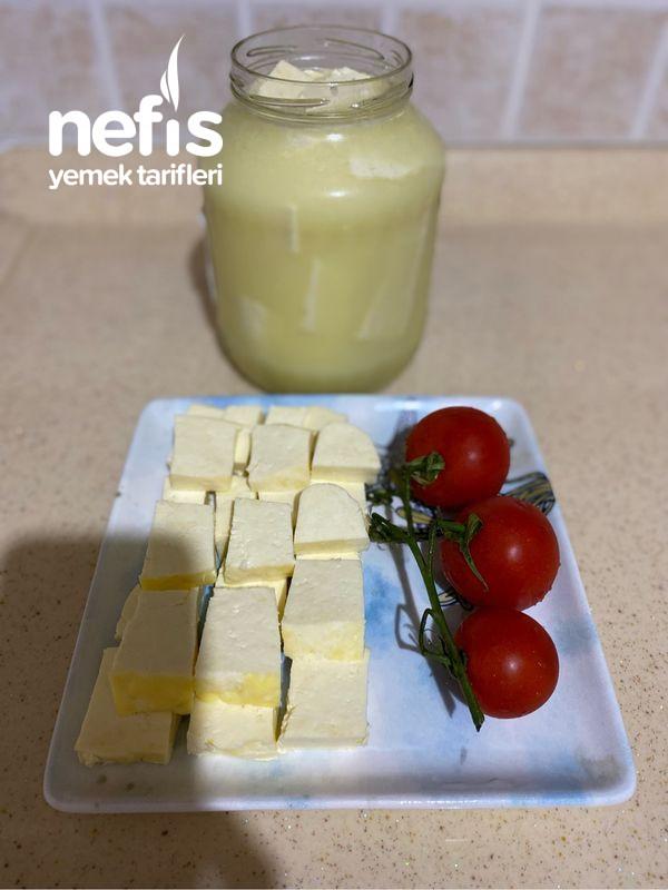 Lokum Gibi Ev Yapımı Peynir Muhteşem Oldu