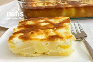 Fırında Peynirli Soslu Patates Tarifi
