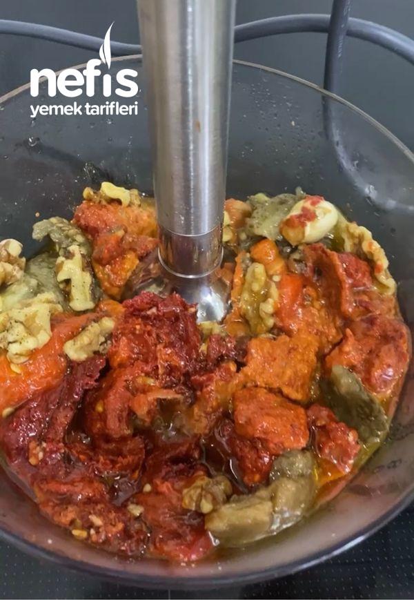Közlenmiş Biberli-Patlıcanlı Meze