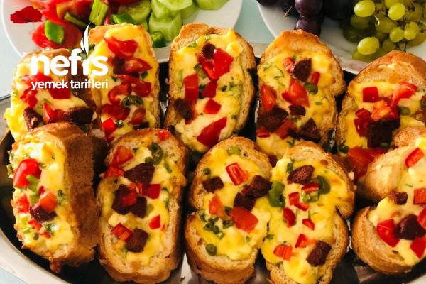Pizza Poğaça  Tadında Nefis Kahvaltılık