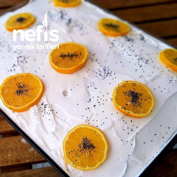 Portakallı Ve Haşhaşlı Revani