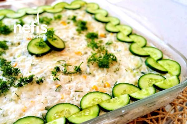 Çok Lezzetli Patates Salatası