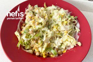 Nohutlu Marul Salatası Tarifi