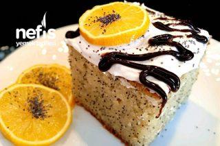 Portakallı Ve Haşhaşlı Revani Tarifi