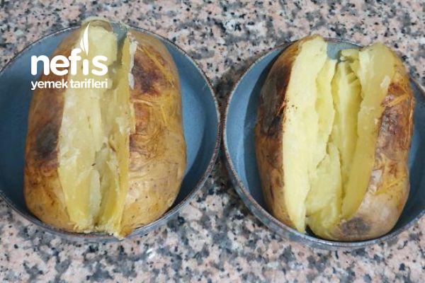 Kumpir (Patatesler Fırında Değil Tavada Közleniyor)