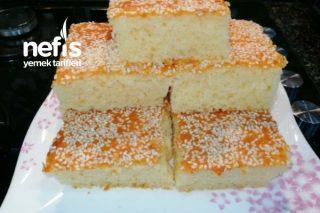 Beyaz Susamlı Yumuşak Kek Tarifi