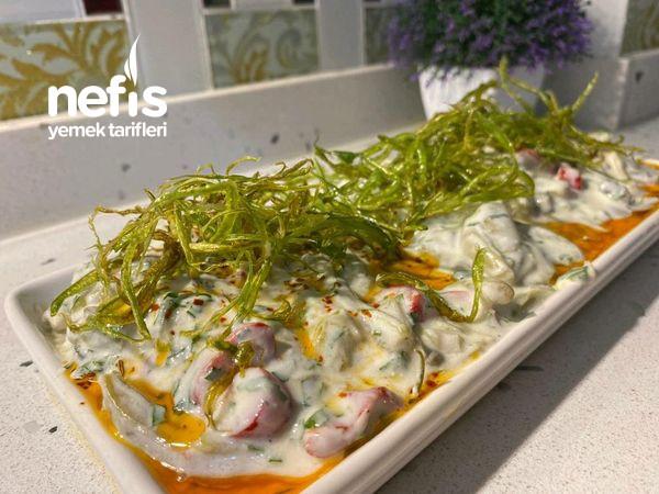 Nefis Bir Yeşil Fasulye Salatası