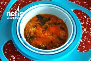 Semiz Otlu Bulgurlu Çorba +8 Ay Tarifi