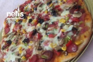 Bir Hamurda 2 Lezzet Pizza Ve Sigara Böreği Tarifi