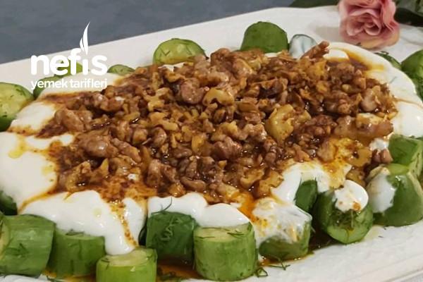 Nefis Cevizli Kabak Salata