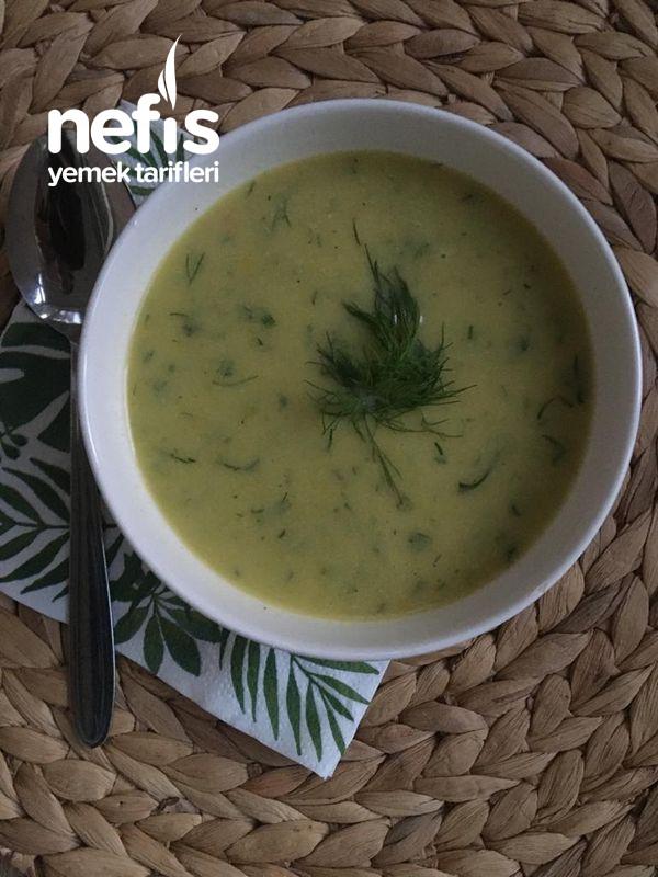 Nefis Kabak Çorbası Kabağı (Sevmeyenler Bu Çorbayı İçtikten Sonra Fikriniz Değişecek)