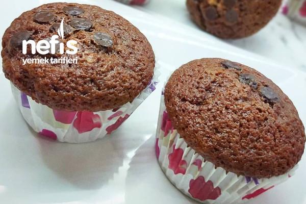 Tam Ölçülü Kakaolu Muffin Kek