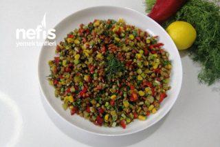 Yeşil Mercimek Salatası Videolu Tarifi