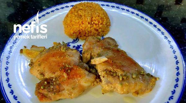Akşam Yemeğiniz Yokmu Alın Size Pratik Tavuk Tarifi Videolu